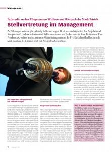 Stellvertretung im Management