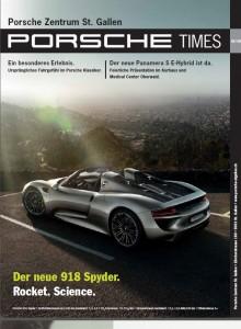 Cover Porsche Times 3_13