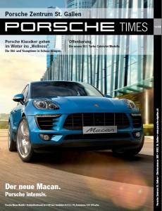 Cover Porsche Times 2013