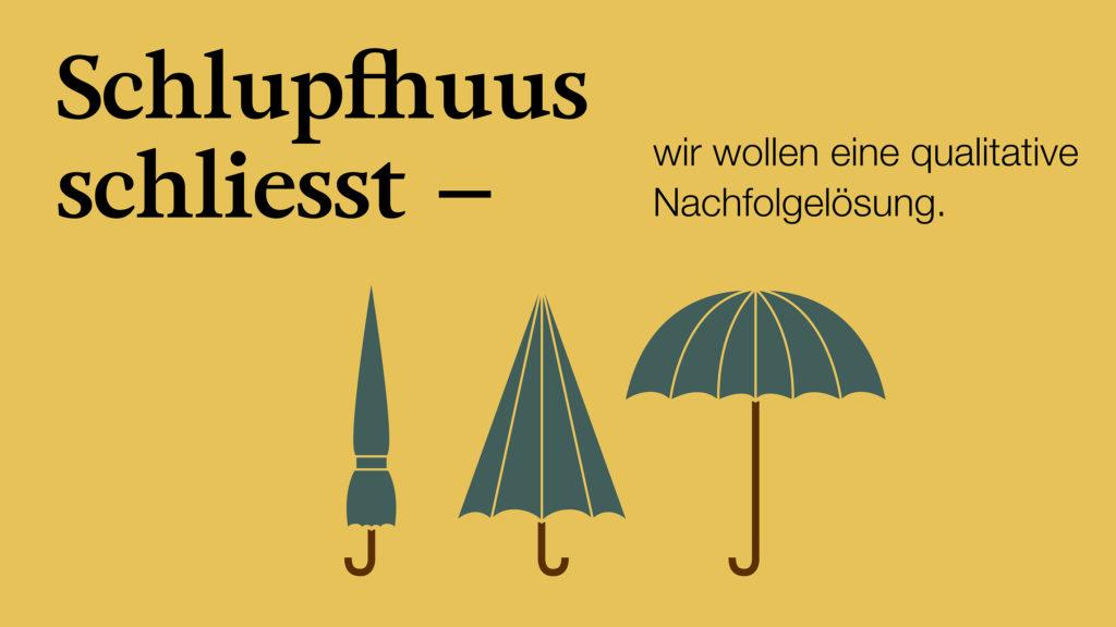 Schlupfhuus St.Gallen schliesst - Petition als politische Kampagne